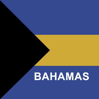 Bahamas Flag Socks