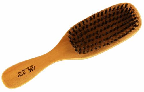 Natural Wood Hard Bristles Wave Hair Brush Dozen