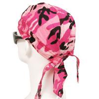 Pink Camouflage Head Wrap (Dozen)