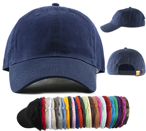 100% Cotton Stone Washed Baseball Caps Premium (Each). Price   6.00. On  Sale!   4.50 1cdfd8bc030
