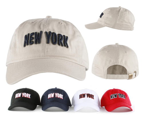 120790563 100% Cotton Stone Washed Baseball Caps Premium (Dozen)